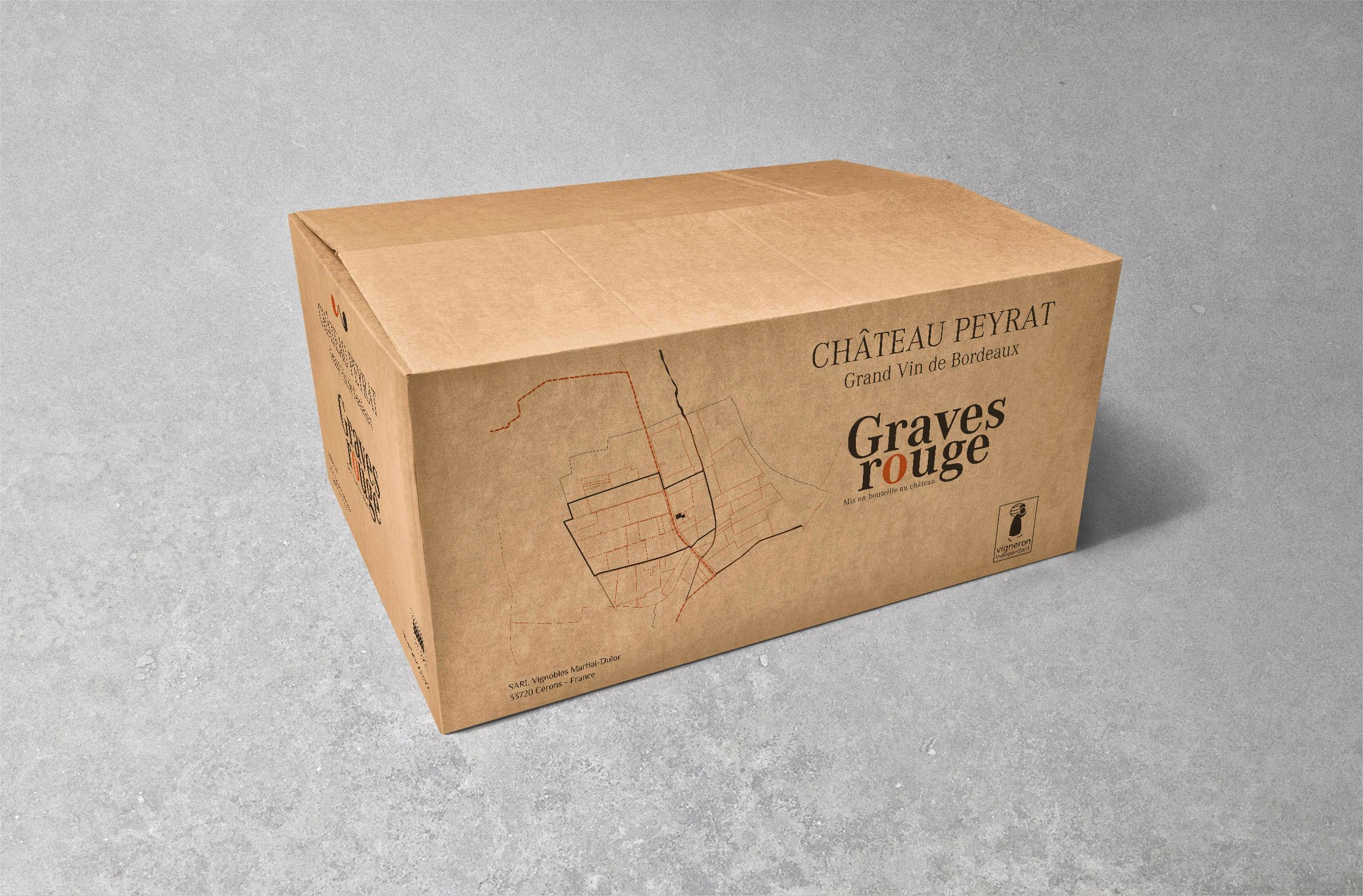 Chateau Peyrat Carton Graves