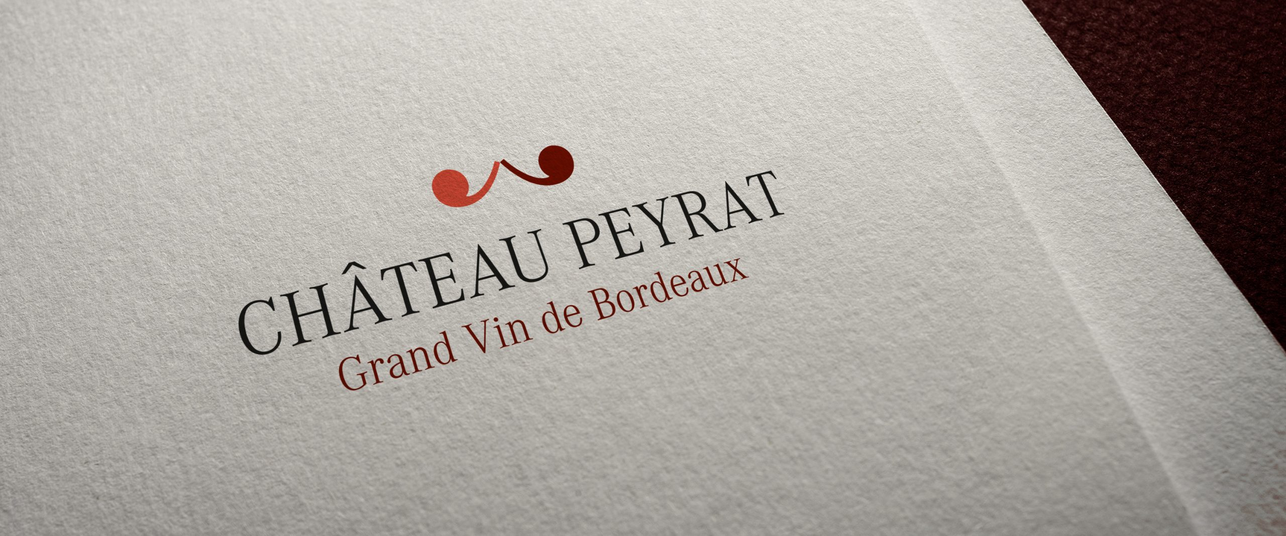 Chateau Peyrat Logo Vignoble Vin