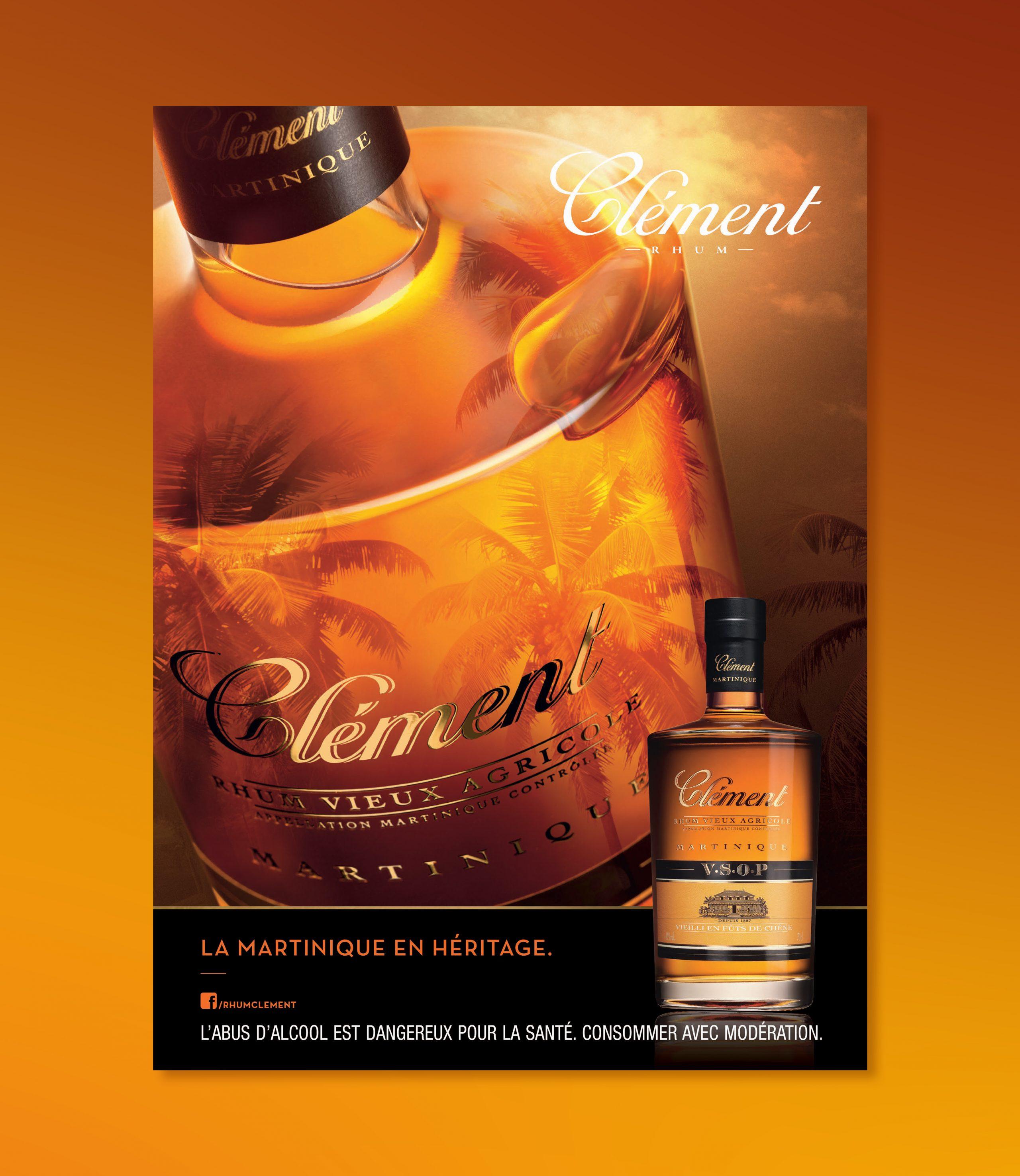 Rhum-Clement-Alcool-Publicite-Affiche