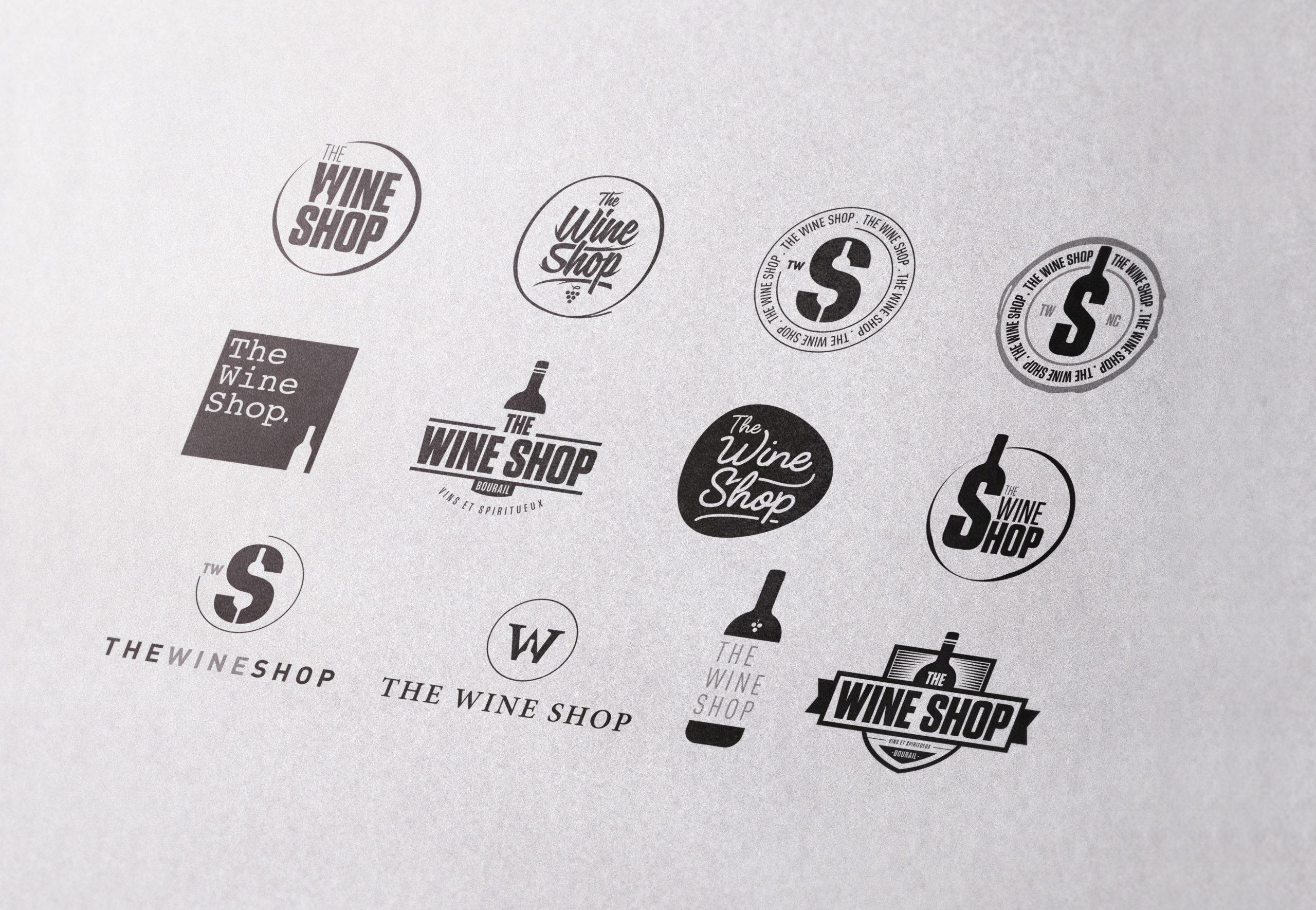 Wine-Shop-Creation-Logo