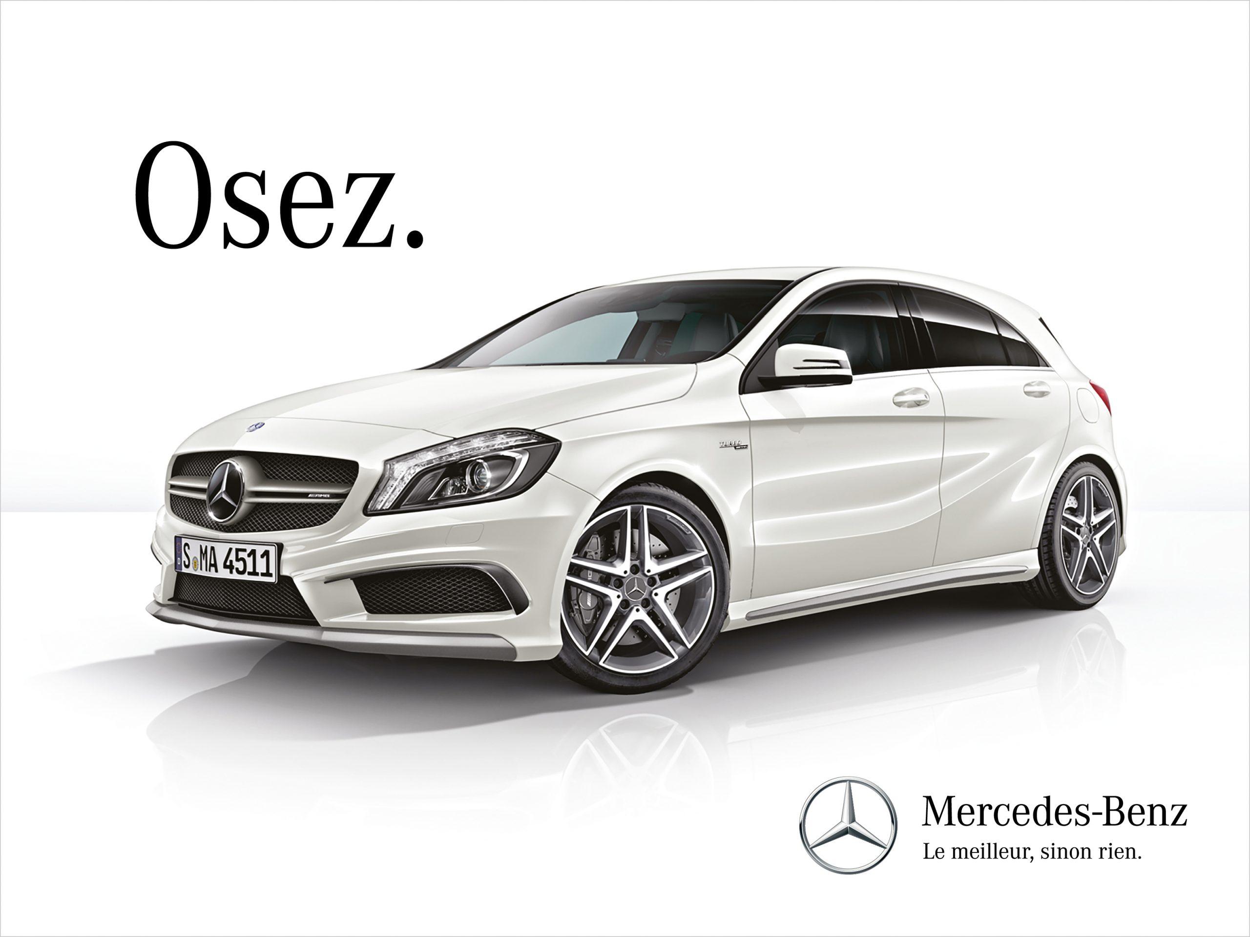 Mercedes Publicite Automobile
