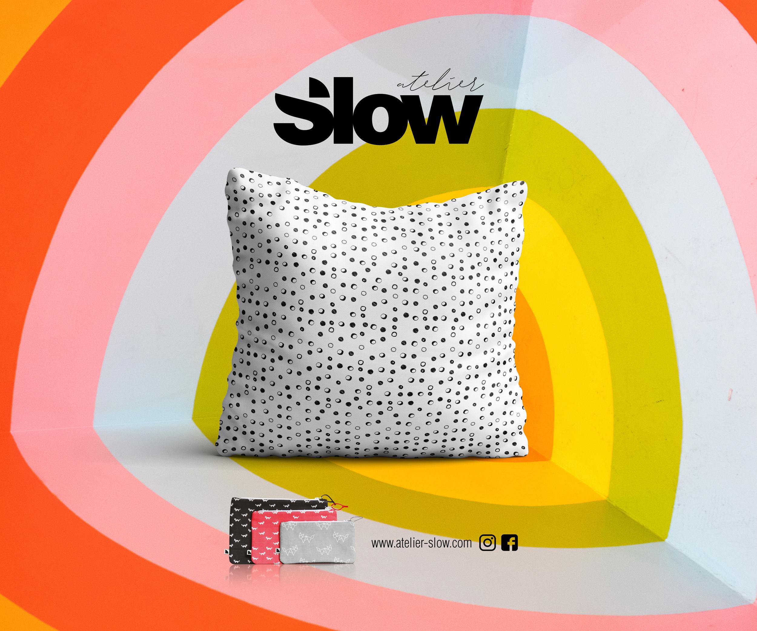 Slow Coussin Textile