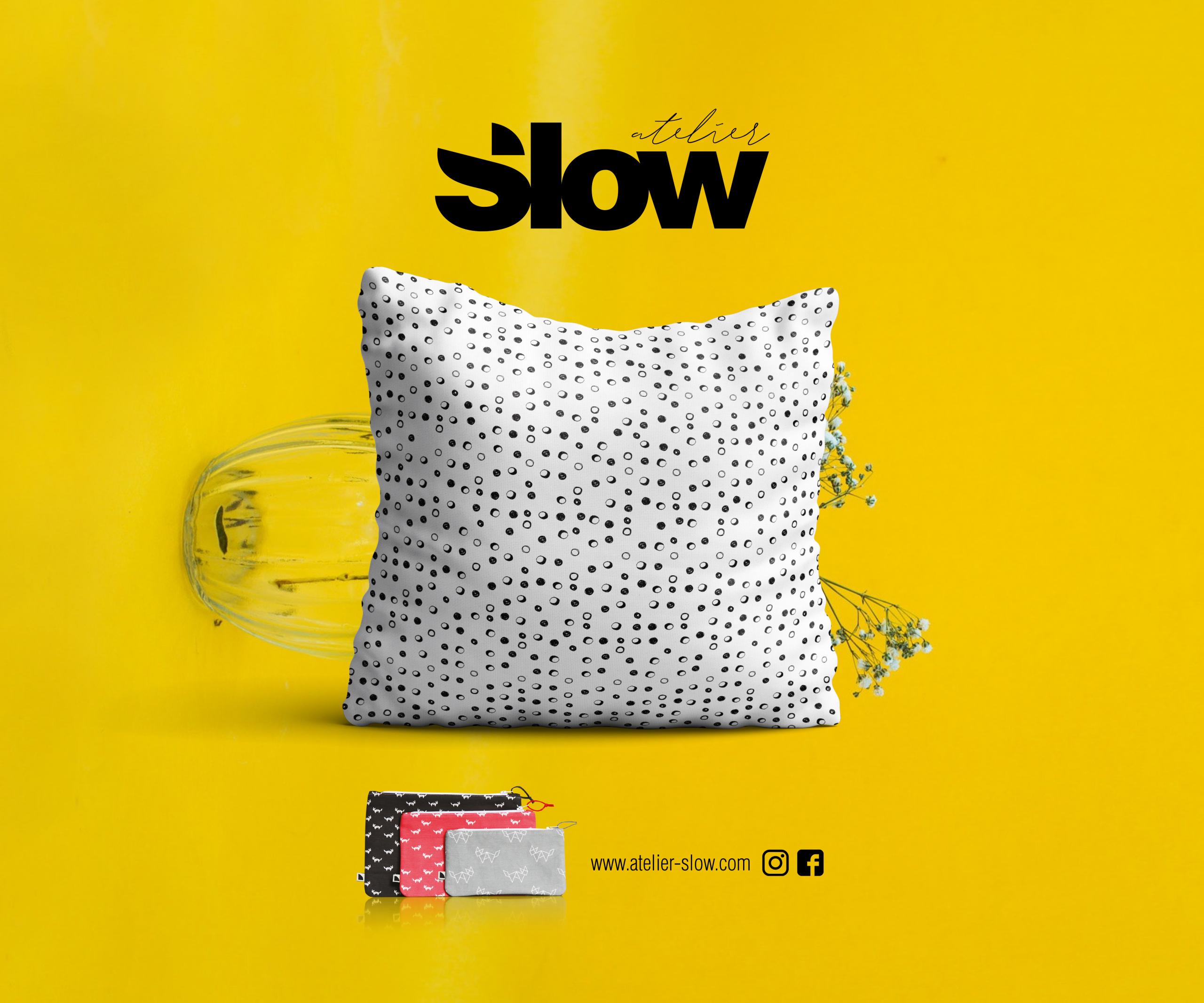 Slow Coussin Textile 2