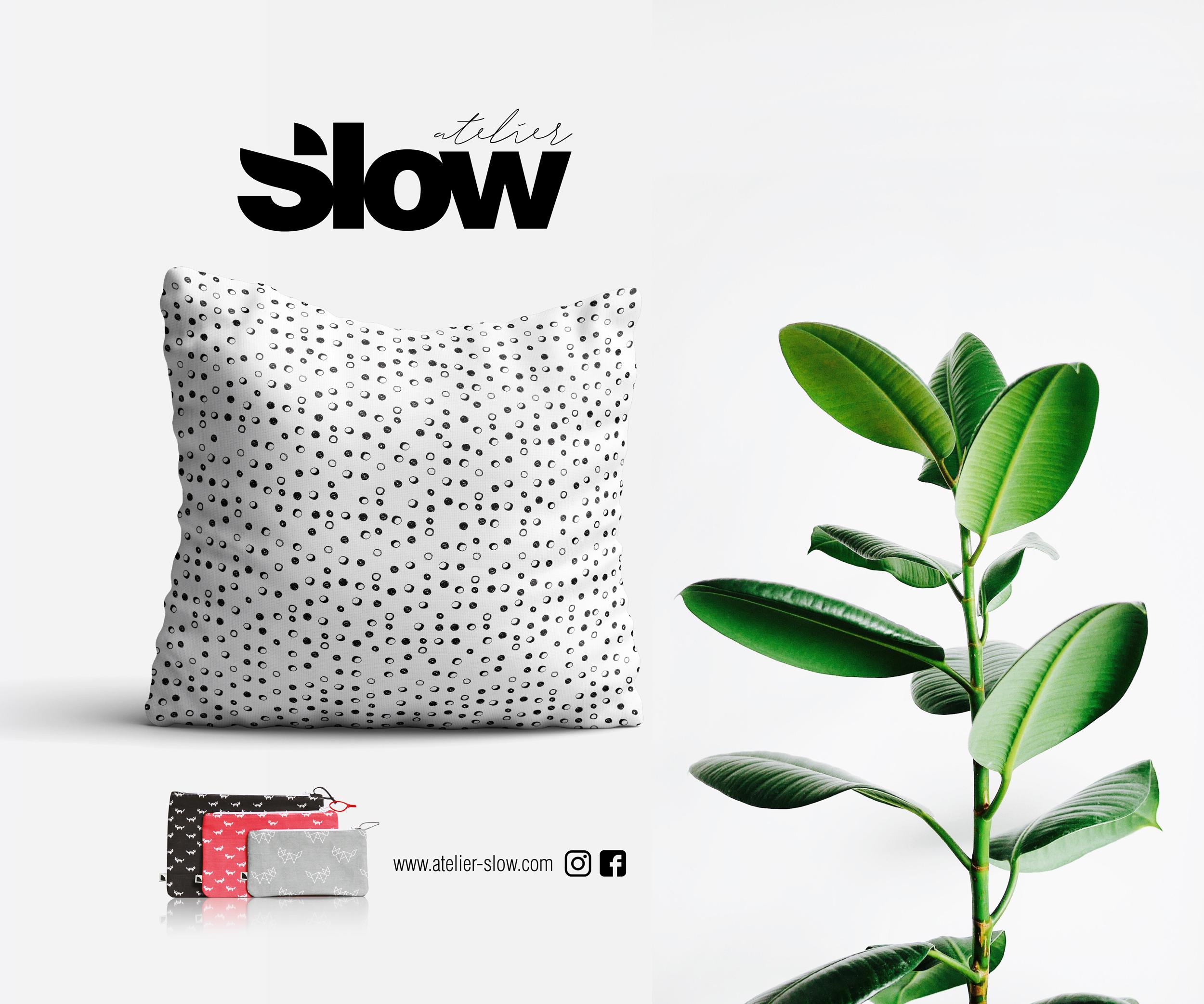 Slow Coussin Textile 3