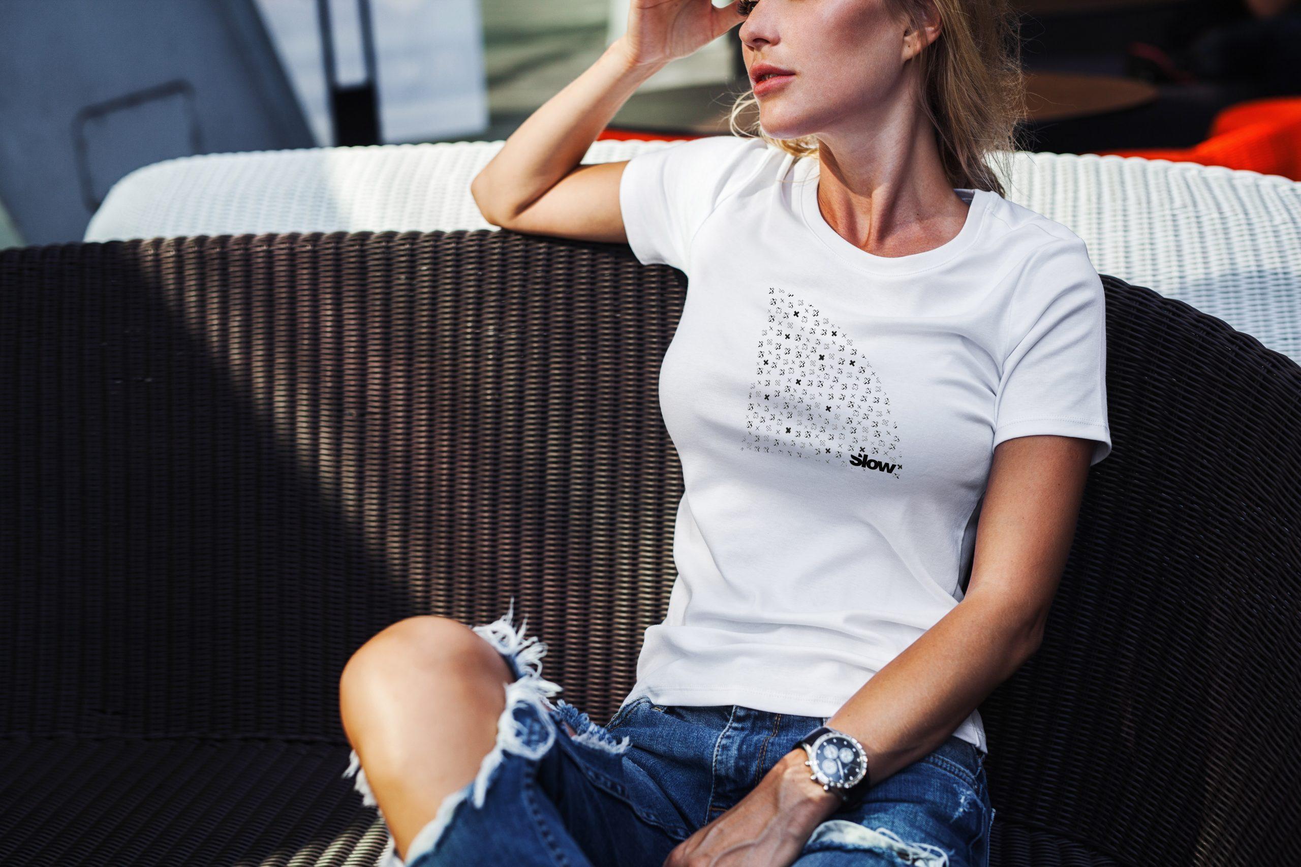 Slow Tshirt Croix Textile