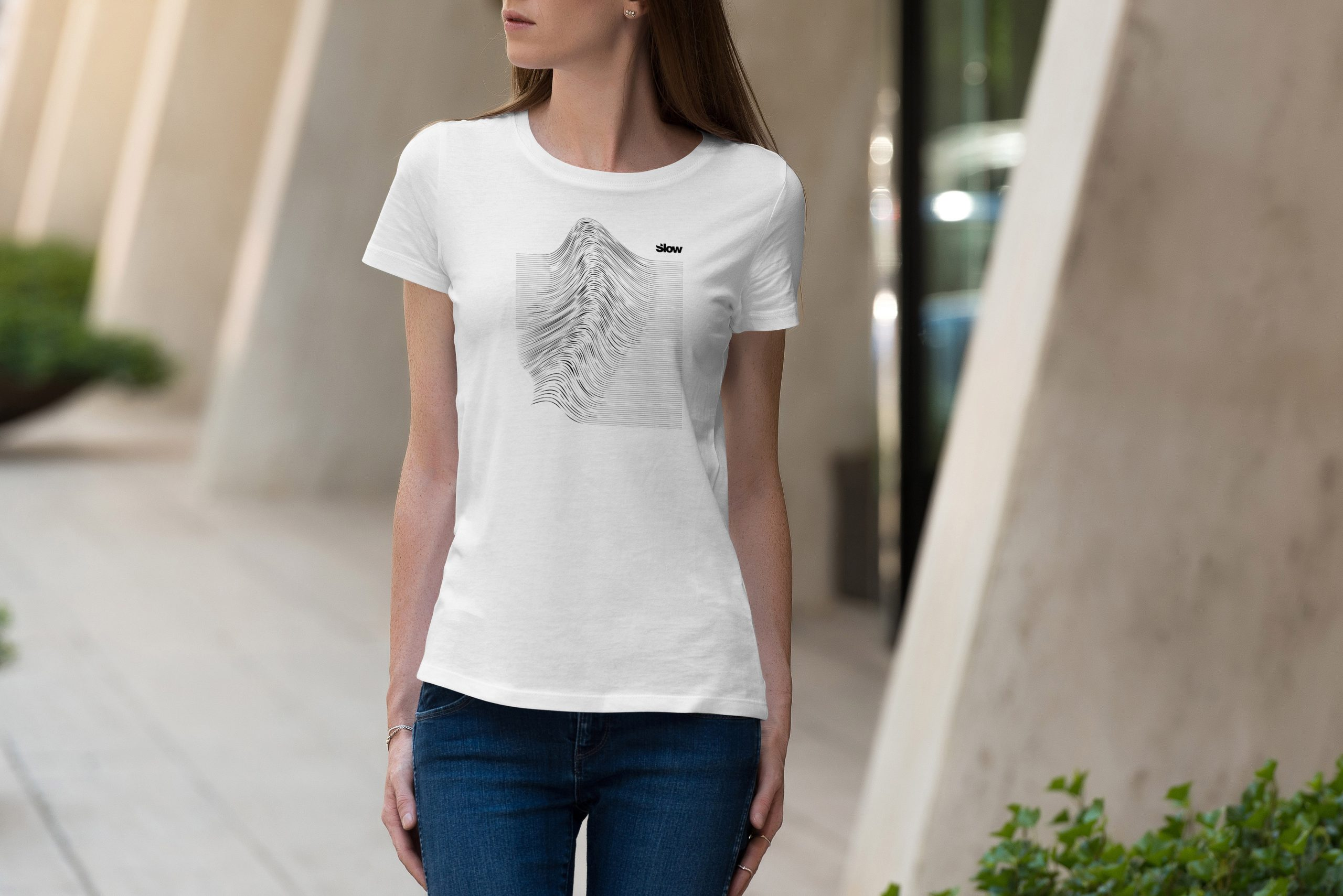 Slow-Tshirt-Vague-Textile