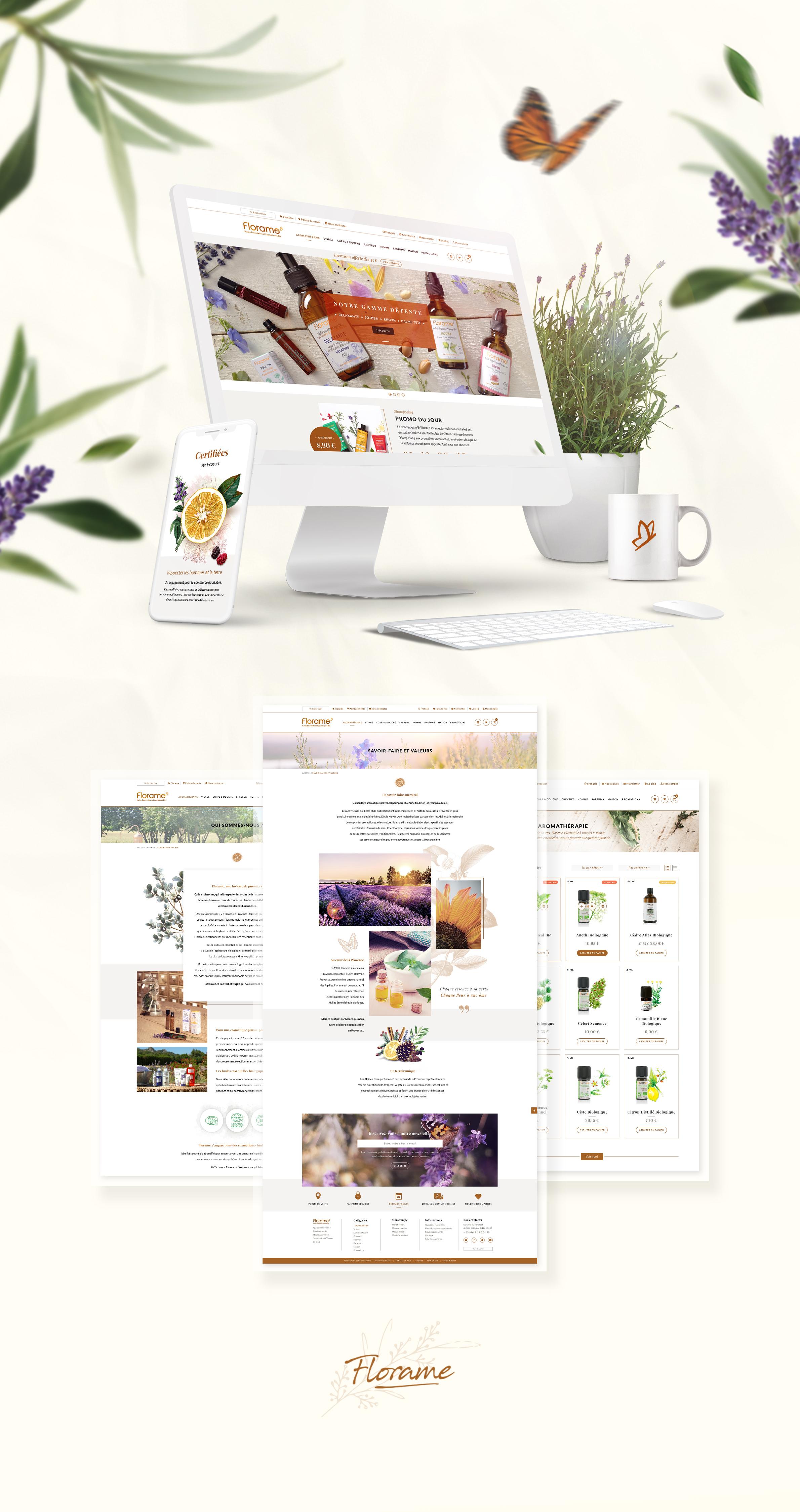 Florame Site Internet Cosmetique Huiles Essentielles